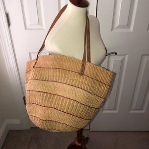 Handbags - Straw Shoulder Bag Unknown Label